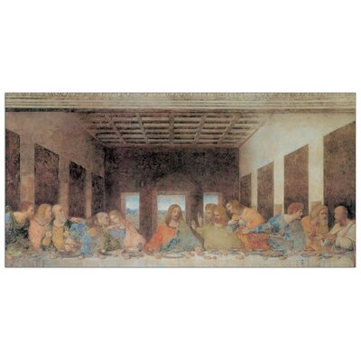 """House Additions """"The Last Supper Today"""" by Da Vinci Art Print Plaque"""