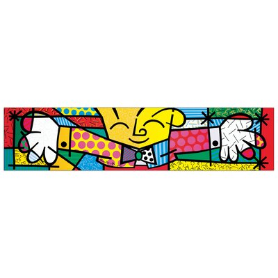 House Additions 'The Hug' by Britto  Graphic Art Plaque