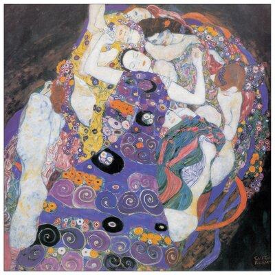 House Additions 'Le Vergini Detail' by Klimt Art Print Plaque