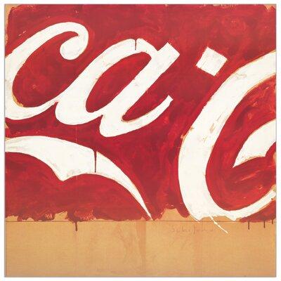 "House Additions ""Coca Cola"" by Schifano Art Print Plaque"