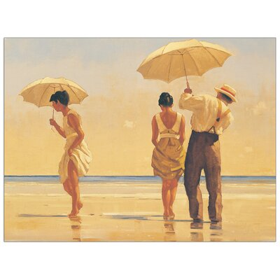 House Additions 'Mad Dogs' by Vettriano Art Print Plaque