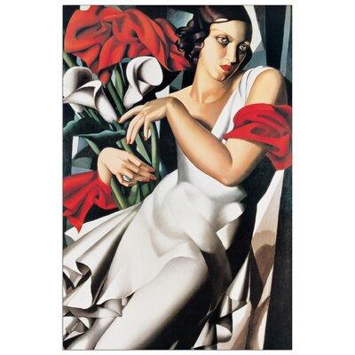 House Additions 'Portrait De Ira' by De Lempicka Art Print Plaque