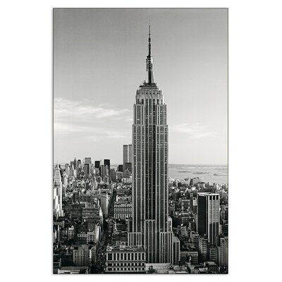 House Additions 'Empire State Building' by Silberman  Photographic Print Plaque