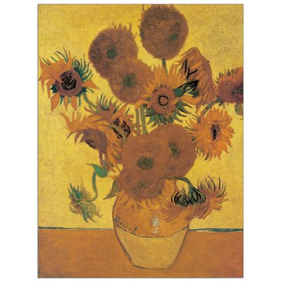 House Additions 'Sunflowers' by Van Gogh Art Print Plaque
