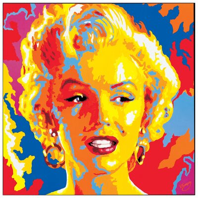 House Additions 'Marilyn Monroe' by Gorsky Graphic Art Plaque