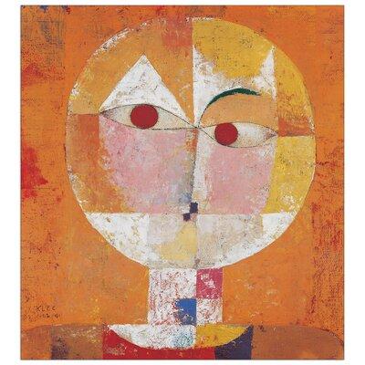 House Additions 'Senecio' by Klee Art Print Plaque