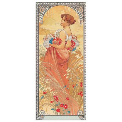 House Additions 'Ete 1900' by Mucha Art Print Plaque