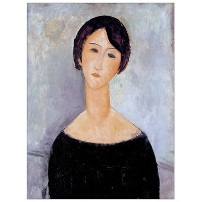 House Additions 'Woman' by Modigliani Art Print Plaque