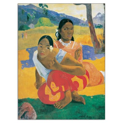 """House Additions """"When Will You Marry?"""" by Gauguin Art Print Plaque"""