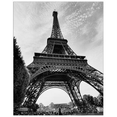 House Additions 'La Tour Eiffel Paris' by Silberman Photographic Print Plaque