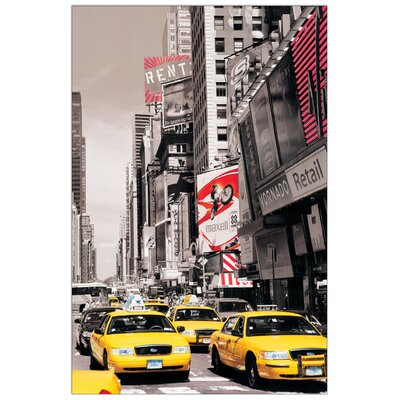 House Additions Times Square II Graphic Art Plaque