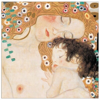 House Additions 'Le Tre Età Della Vita' by Klimt Art Print Plaque