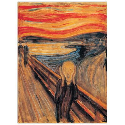 House Additions 'The Scream' by Munch Art Print Plaque