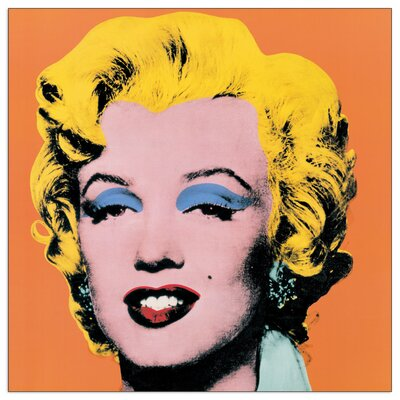 House Additions 'Shot Orange Marilyn, 1964' by Warhol Graphic Art Plaque