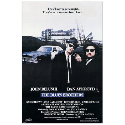 House Additions Blues Brothers Vintage Advertisement Plaque