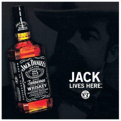 House Additions Jack Daniel's (Bottle)  Vintage Advertisement Plaque