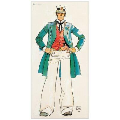 House Additions 'Corto Maltese' by Pratt Vintage Advertisement Plaque