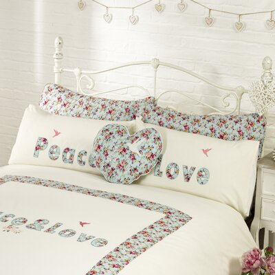 House Additions Love and Peace Pillow Sham