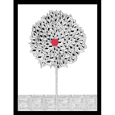 House Additions Apple Tree Framed Graphic Art
