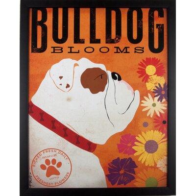 House Additions Bulldog Framed Graphic Art