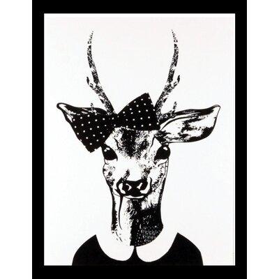 House Additions Female Deer Framed Graphic Art