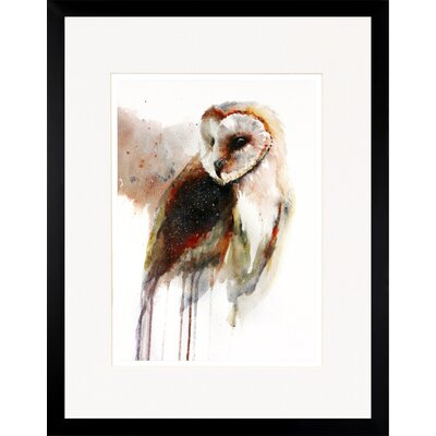 House Additions Owl Framed Art Print