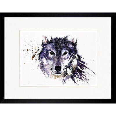 House Additions Wolf Framed Art Print