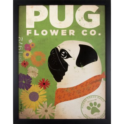 House Additions Pug Framed Graphic Art