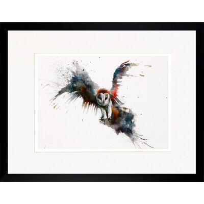 House Additions Owl Framed Art Print