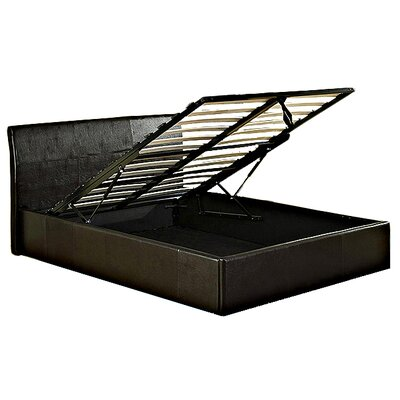 House Additions Broadway Upholstered Ottoman Bed Frame