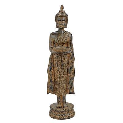 House Additions Standing Buddha Figure