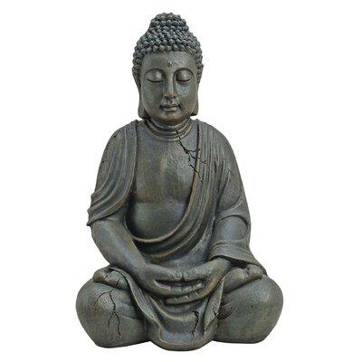 House Additions Sitting Buddha Figure