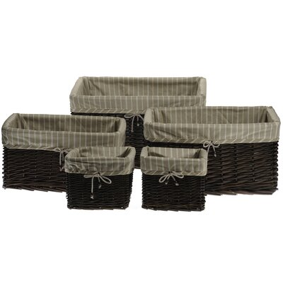 House Additions 4 Piece Storage Basket Set
