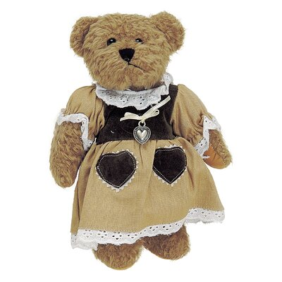 House Additions Girl Traditional Costume Bear Set