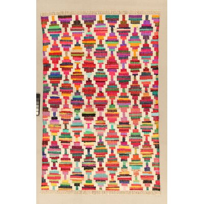 House Additions Chelles Hand-Woven Multi-Coloured Area Rug
