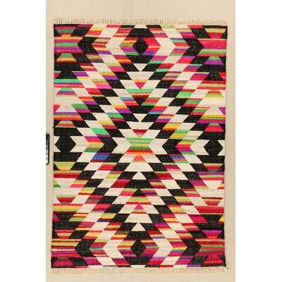 House Additions Niort Hand-Woven Multi-Coloured Area Rug