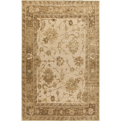 House Additions Evry Lori Hand-Knotted Beige Area Rug