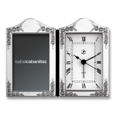 House Additions Floral Alarm Clock