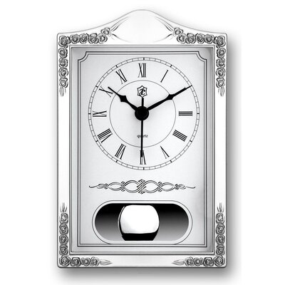 House Additions Floral Table Clock