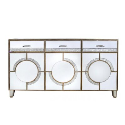 House Additions Hollywood 3 Door 3 Drawer Sideboard