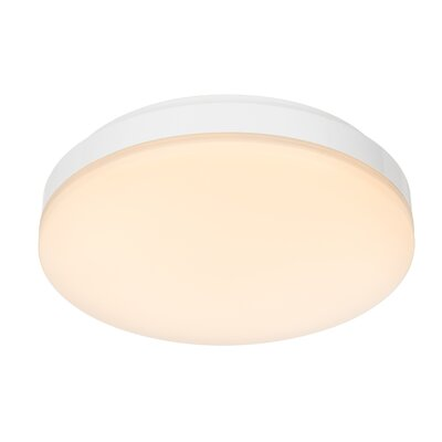 House Additions 1 Light Flush Ceiling Light