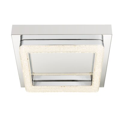 House Additions 1 Light Flush Ceiling Light