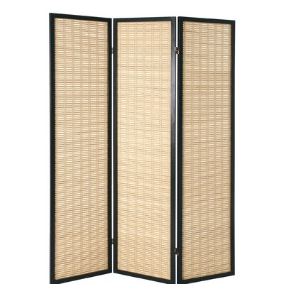 House Additions 178cm x 137cm Gina Paravent 3 Panel Room Divider