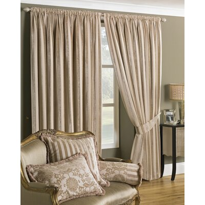 House Additions Salzburg Lined Pencil Pleat Curtain