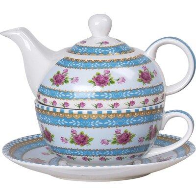 House Additions Rose Tea Set