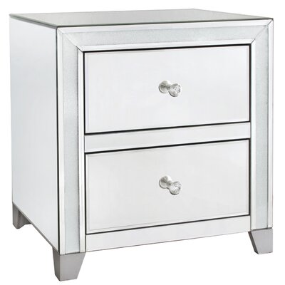 House Additions 2 Drawer Chest of Drawers