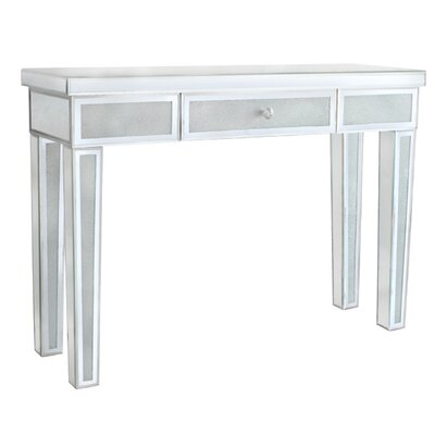 House Additions Diamond Crush Console Table