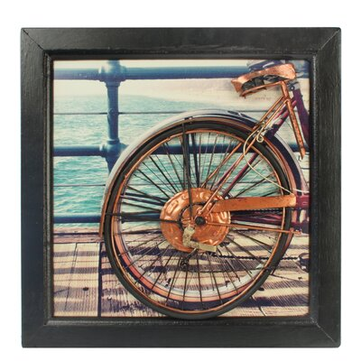 House Additions Bicycle Framed Art Print