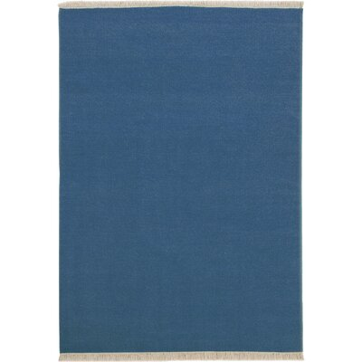 House Additions Colmar Handmade Blue Area Rug