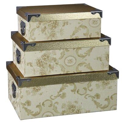 House Additions 3 Piece Damaska Box Set